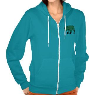 Sad Brown Calf World Vegetarian Day Animal Rights Hooded Sweatshirts