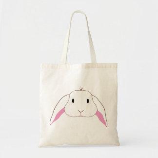 Sad Bunny Canvas Bag