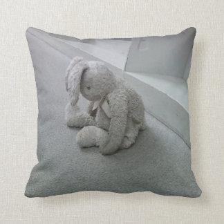 Sad Bunny Pillow