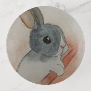 Sad Bunny Trinket Trays
