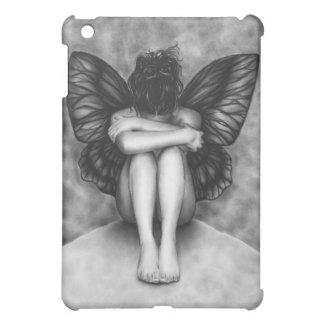 Sad Butterfly Girl iPad Case