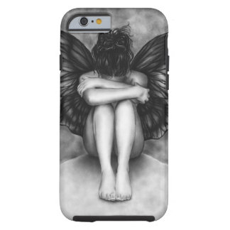 Sad Butterfly Girl iPhone 6 case