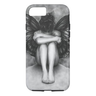 Sad Butterfly Girl iPhone 7 case