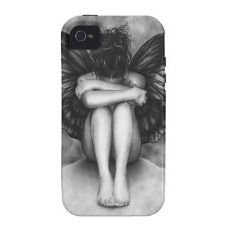 Sad Butterfly Girl iPhone Cover Vibe iPhone 4 Cover