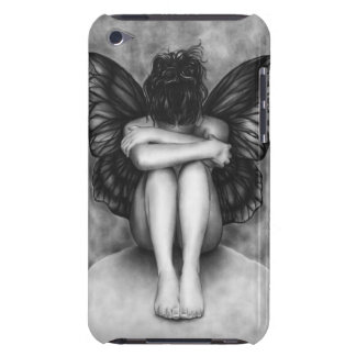 Sad Butterfly Girl iPod Case Barely There iPod Case