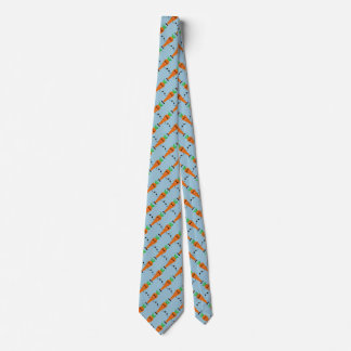 Sad Carrot by Kenneth Yoncich Tie