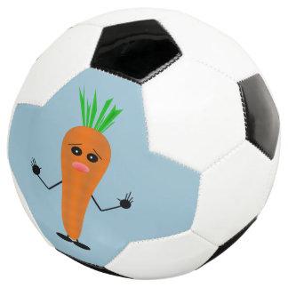 Sad Carrot Soccer Ball