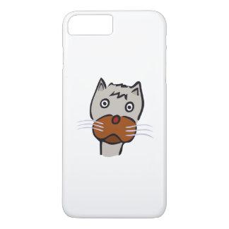 Sad cat cartoon iPhone 7 plus case
