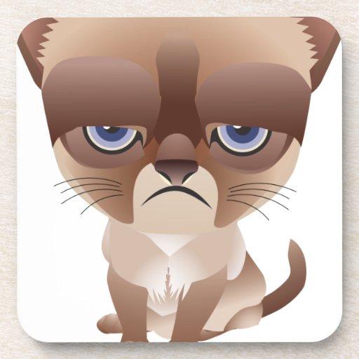 Sad Cat Coasters
