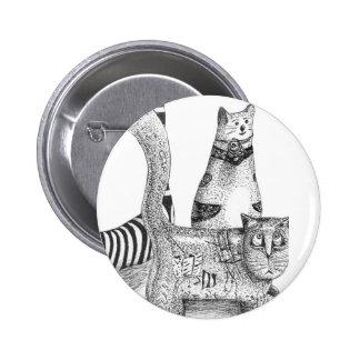 Sad cats button
