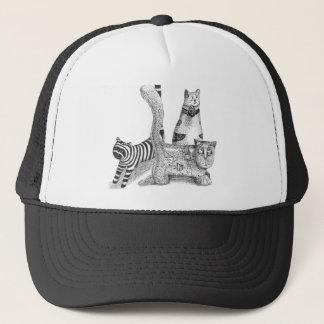 Sad cats trucker hat