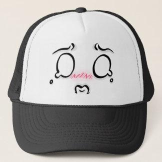 Sad Chibi Face Trucker Hat