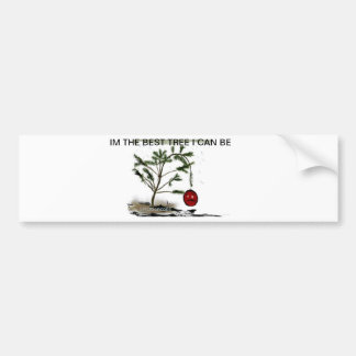 Sad Christmas Tree Bumper Sticker