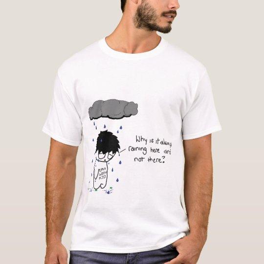 Sad Cloud With Logo T-Shirt