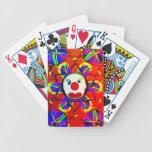 Sad Clown Bicycle Card Deck