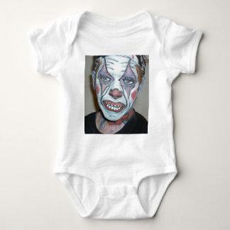 Sad Clowns Scary Clown Face Painting Baby Bodysuit