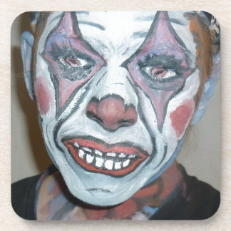 Sad Clowns Scary Clown Face Painting Beverage Coasters