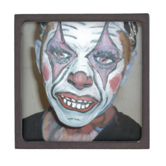 Sad Clowns Scary Clown Face Painting Jewelry Box