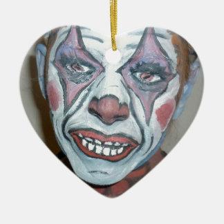 Sad Clowns Scary Clown Face Painting Christmas Tree Ornaments