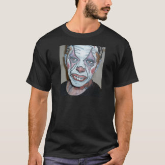Sad Clowns Scary Clown Face Painting T-Shirt