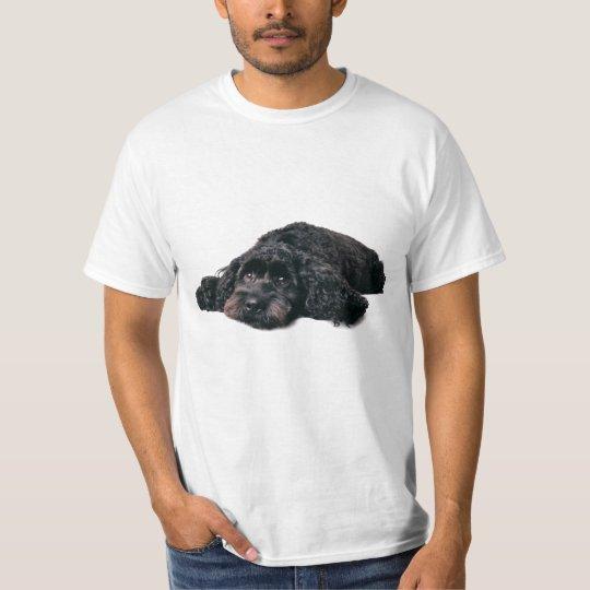 Sad cocker poodle mix puppy  t-shirt