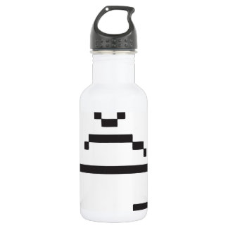 Sad Computer Icon Stainless Steel Water Bottle