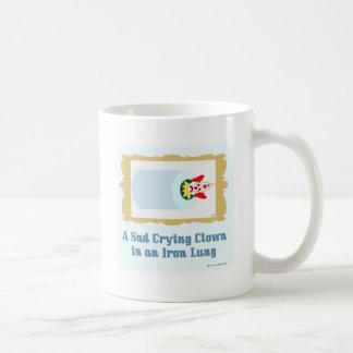 Sad Crying Clown Classic White Coffee Mug