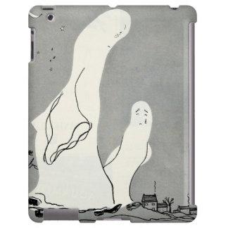 Sad Crying Vintage Ghosts Halloween Parent Kid