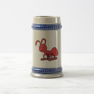 Sad Crying Weeping Red Ant Card Pillow Magnet Pin Beer Stein