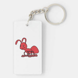 Sad Crying Weeping Red Ant Mug Hat Cap Bag Button Acrylic Key Chains