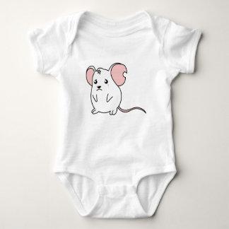 Sad Crying Weeping White Mouse Boy Girl Tee Shirt