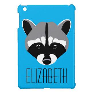 Sad Cute Raccoon Cover For The iPad Mini