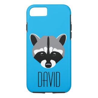 Sad Cute Raccoon iPhone 8/7 Case