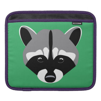 Sad Cute Raccoon Sleeve For iPads