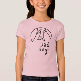 Sad Dog™ - Girls' Babydoll T-Shirt