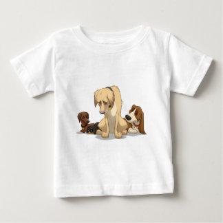 Sad Dogs Baby T-Shirt