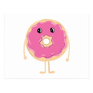 Sad Doughnut Postcard