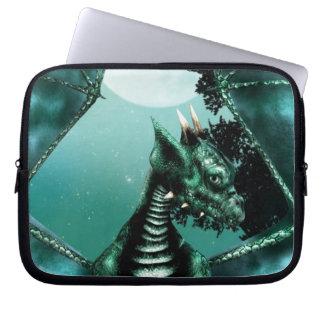 Sad Dragon Laptop Computer Sleeves