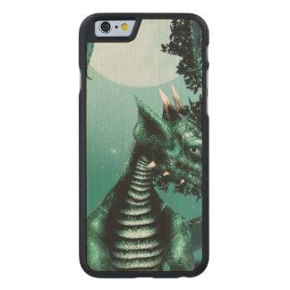 Sad Dragon Carved® Maple iPhone 6 Slim Case