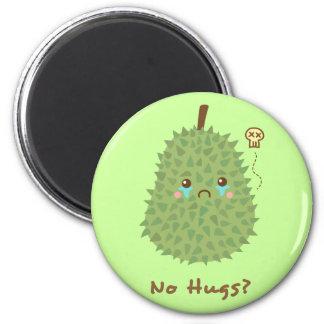 Sad Durian that gets no hugs Refrigerator Magnet