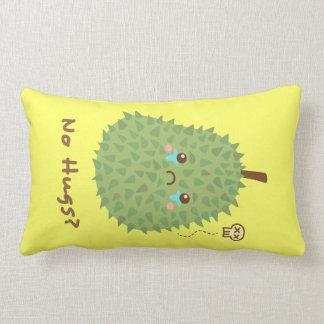 Sad Durian that gets no hugs Pillow