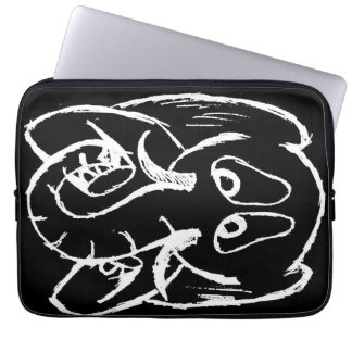 Sad Elephant Laptop Computer Sleeves