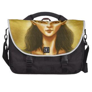 sad elf fantasy computer bag