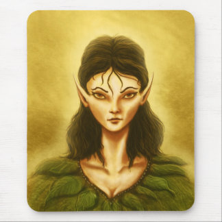 sad elf mousepad