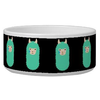 Sad Emoji Llama Bowl