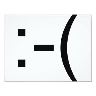 Sad Emoticon! geek products! Invites