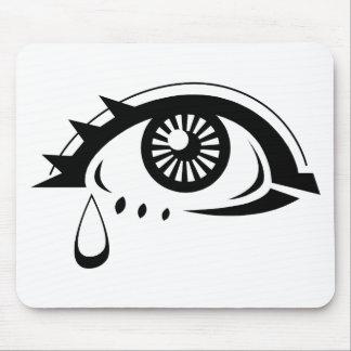 Sad Eyeball Mouse Pad
