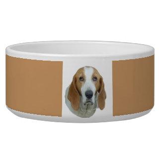 Sad-eyed Hound Dog Dog Water Bowl