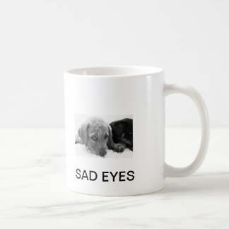 SAD EYES PUPPY COFFEE MUG