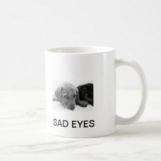 SAD EYES PUPPY COFFEE MUG